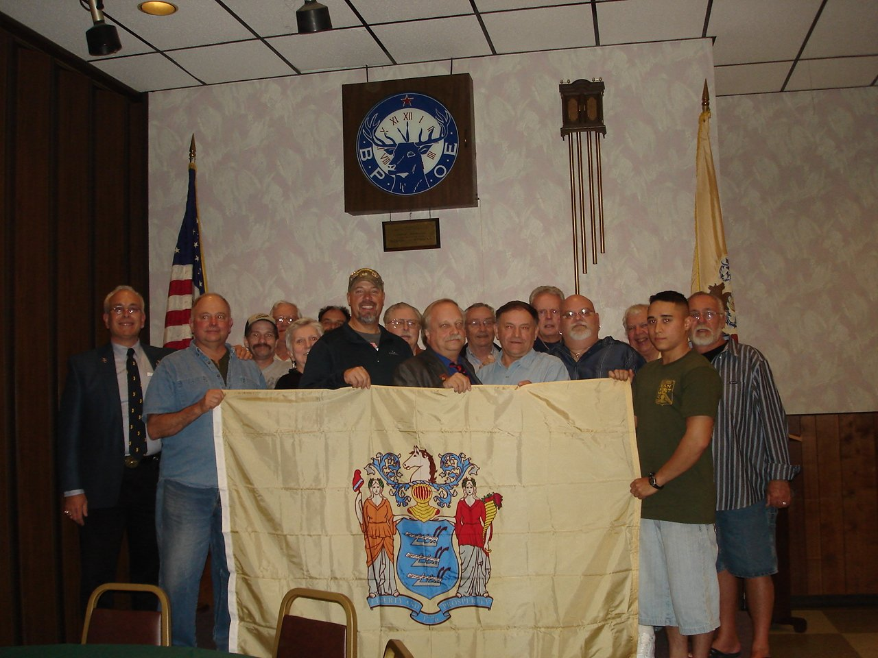 ELKS 105 and SCOTT KING